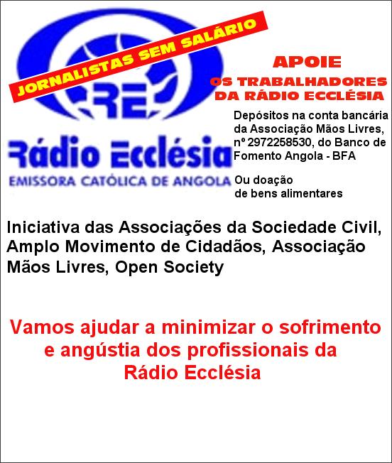 Ajude os jornalistas da Rádio Ecclésia